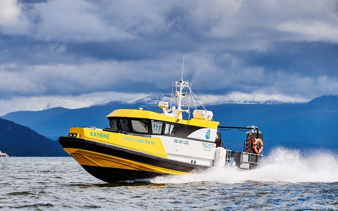 Techno Dive på Husøy dykker over hele verden